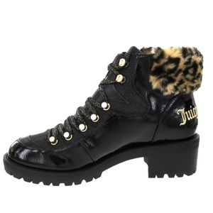 NWT Juicy Couture Indulgence Faux Fur Hiker Bootie